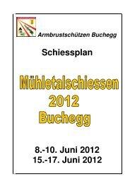 Mühletalschiessen 2012 Schiessplan - BKAV