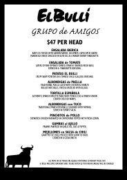 GRUPO de AMIGOS - El Bulli