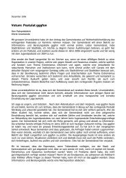 Votum: Postulat gggfon - Nadine Masshardt