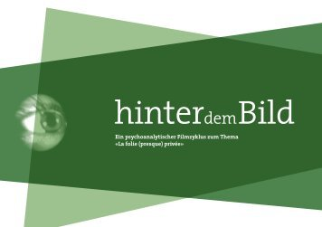 Flyer - Psychoanalytisches Seminar Basel