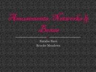 Amusements, Networks & Boxes - Maryadams.net