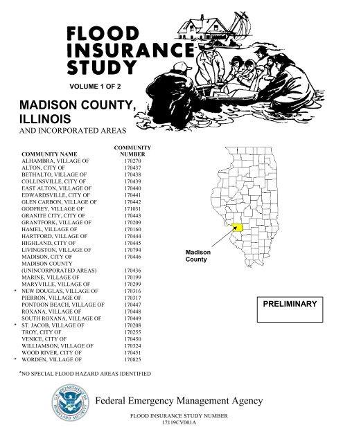 MADISON COUNTY, ILLINOIS - Illinois Floodplain Maps