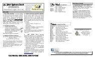 August 11-12, 2012 - St. John's Lutheran Church