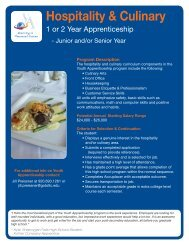 Youth Apprenticeship Flyers - Kiel Area School District