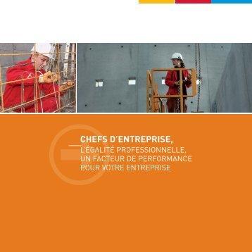 CHEFS D'ENTREPRISE, - Informetiers