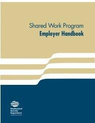Shared work compensation plan - Washington State Digital Archives
