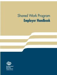Shared work compensation plan - Washington State Digital Archives