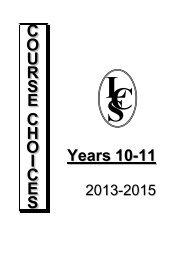 Years 10-11 - Littleover Community School