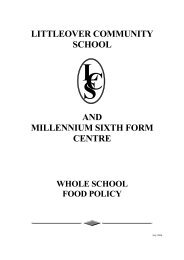 littleover community school cl s and millennium sixth form centre ...