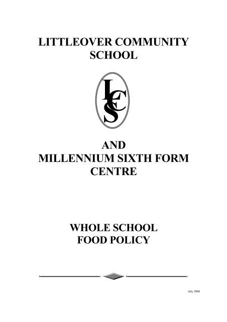 littleover community school cl s and millennium sixth form centre ...