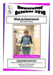 October 2010.pub - Littleover Community School