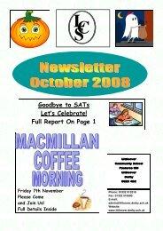 October 2008 - Littleover Community School
