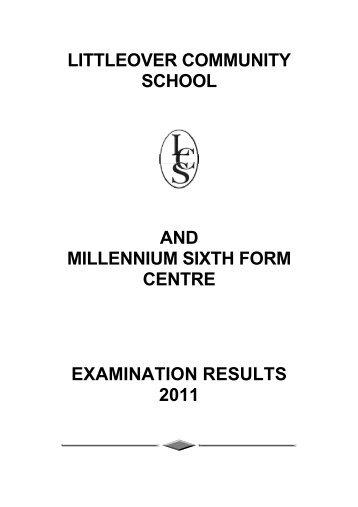2011 - Littleover Community School