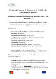 Lista de Candidatos - CCDR-LVT