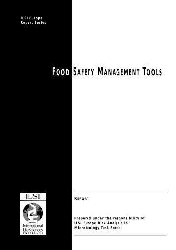 ILSI Food Safety for pdf - International Life Sciences Institute