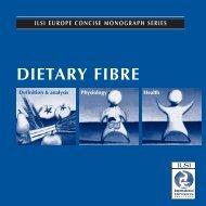 Dietary Fibre - ILSI Argentina