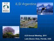 ILSI Argentina - International Life Sciences Institute