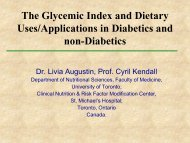 Low GI Diet - International Life Sciences Institute