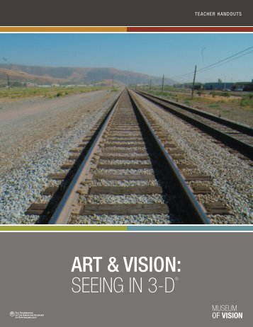 ART & VISION: SEEING IN 3-D® - Museum of Vision