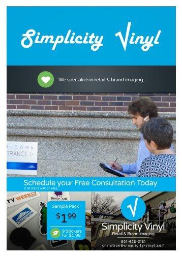 Simplicity Vinyl Product Catalog