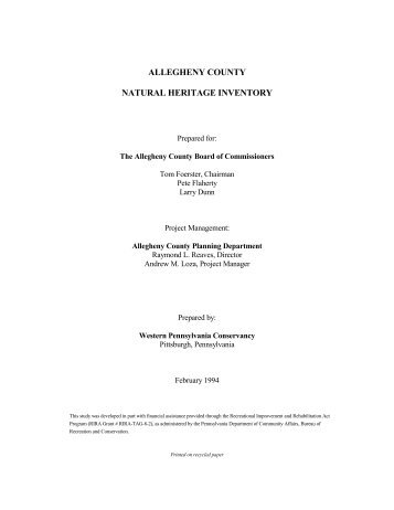 Allegheny County Court of Common Pleas Court Summary
