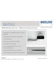 BREUER Noa Flat Line – Moderne & flache Formen - Duschmeister.de
