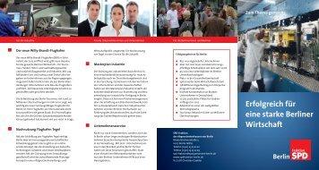 Faltblatt Wirtschaft - Sven Kohlmeier