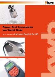 kwb Katalog 2008-09 ENG