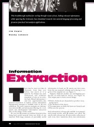 Extraction - Information Sciences Institute