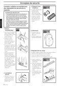 Consignes de sécurité - Jonsered - Page 6