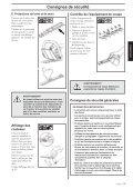 Consignes de sécurité - Jonsered - Page 7