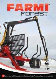 Effiziente und vielfältige Gerätekombinationen für die ... - Farmi Forest