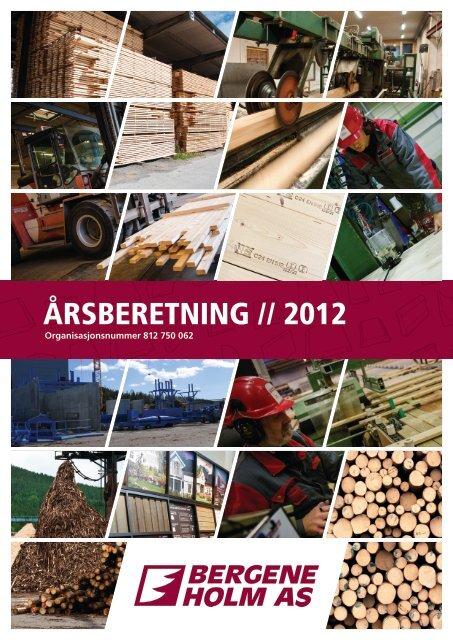 ÅRSBERETNING // 2012 - Bergene Holm