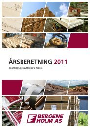 ÅRSBERETNING 2011 - Bergene Holm
