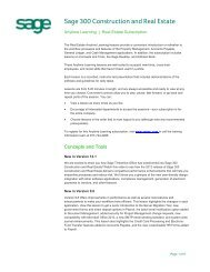 Classroom Setup Guide Visual Integrator - Version     - Sage University