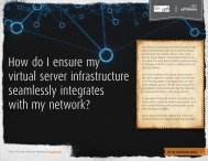 How do I ensure my virtual server infrastructure seamlessly ...