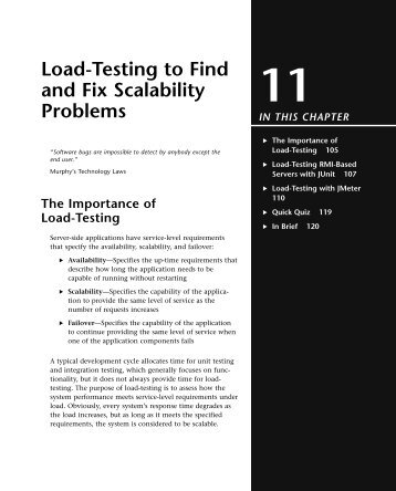 11 Load-Testing to Find and Fix Scalability Problems - TechTarget