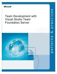 Team Development with Visual Studio Team Foundation Server