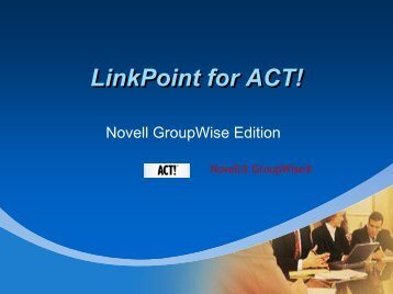 LinkPoint for ACT! - LinkPoint 360