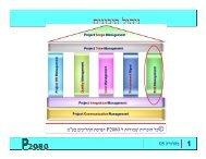 ניהול סיכונים - אתר הידע P2080 למקצועני IT