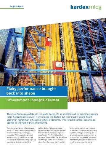 Flaky performance brought back into shape - Kardex Mlog