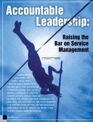 Raising the Bar on Service Management - Smiklespeaks