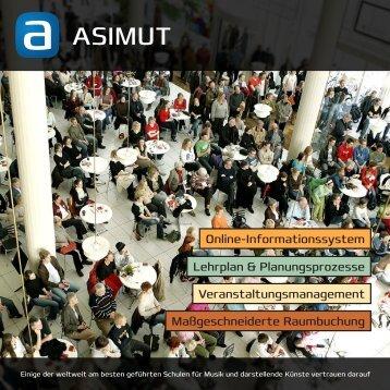 Laden Sie unsere Broschüre hier herunter - ASIMUT software ApS