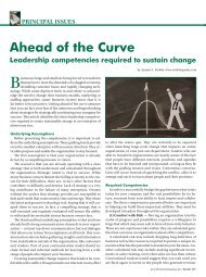 Ahead of the Curve: Leadership competencies ... - Smiklespeaks
