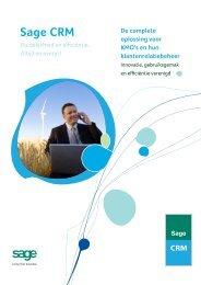Brochure Sage CRM - Megabyte
