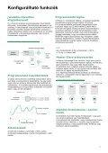 MENTOR II - CONTROL-VH Villamos Hajtástechnológia Kft. - Page 5