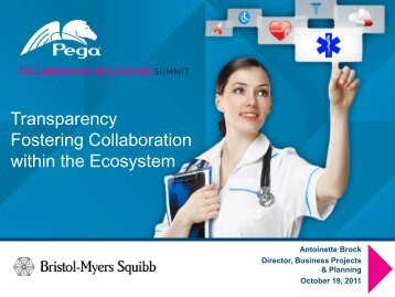 Transparency Fostering Collaboration within the ... - Pegasystems Inc.