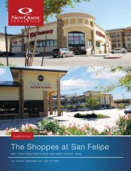 The Shoppes at San Felipe - NewQuest Properties