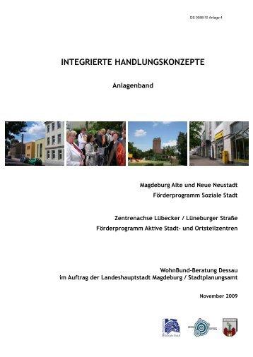 INTEGRIERTE HANDLUNGSKONZEPTE Anlagenband - Magdeburg