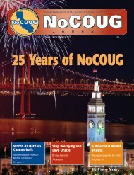 NoCOUG Journal